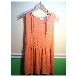 Peach Tunic Top From Urban Outfitters
